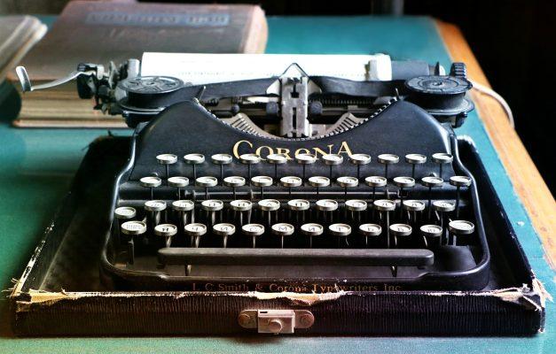 Machine-ecrire-corona-ancienne