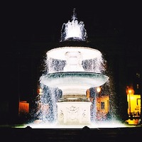 fontaine-rome-nuit